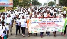 Journée mondiale de la liberté de la presse/Glodé Francelin (Représentant des Organisations professionnelles des médias) : « Nous demandons le retrait pur et simple de l'article 90 du projet de loi sur le régime juridique de la presse… »