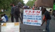 Côte d'Ivoire /Manifestation des ex-combattants de Bouaké : Un lieutenant du CCDO pointé du doigt #Bouaké