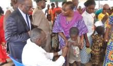 Lutte contre la poliomyélite : plus de 8 millions d'enfants âgés de 0 à 5 ans protégés lors du deuxième passage des Journées Nationales de Vaccination #Santé