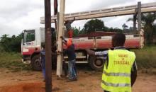 Eclairage public à Tiassalé-Ndouci : le Maire Sylla Kader sort la ville de l'obscurité #Electricité