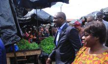 Disponibilité des produits vivriers : le Ministre Souleymane Diarrassouba investit le marché Gouro d'Adjamé #Fêtesdefind'année