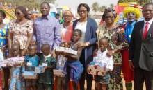 Côte d'Ivoire/Korhogo : Sangafowa Nassou Camara offre une fête de fin d'année féérique à 15 000 enfants #Poro