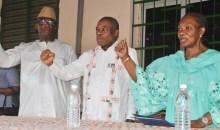 Côte d'Ivoire : la présidente du Rdr communie avec les militants de de Korhogo #HenrietteDiabaté