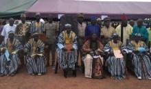 Côte d'Ivoire : 10 chefs de village de la sous-préfecture de Koni/Korhogo intronisés #Chefferietraditionnelle