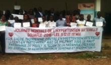 La ville de Bouaflé se mobilise contre l'hypertension artérielle #Santé