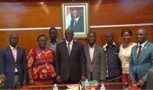 [Côte d'Ivoire Déclaration des naissances dans les délais] L'ONI et l'ONG Aide Action International- Afrique signent une convention de partenariat