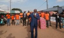 Côte d'Ivoire-Municipales : le maire Diaby Lanciné invite les populations d'Abobo à voter massivement pour le candidat  Hamed Bakayoko le 13 octobre prochain