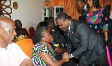 [Côte d'Ivoire] Le témoignage émouvant de Guillaume Soro au domicile de feu Sangare Abou Drahamane