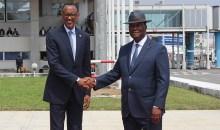 Le Président Paul Kagamé en terre ivoirienne ce mercredi