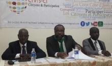 [Côte d'Ivoire Réforme de la CEI] Civis Côte d'Ivoire veut un dialogue tripartite : gouvernement,  opposition politique et société civile