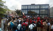 [Côte d'Ivoire/Grève des enseignants] Des élèves prennent d'assaut les rues de Cocody