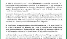 [Côte d'Ivoire] Enfin ! La cargaison des 18 000 T de riz birman sera détruite