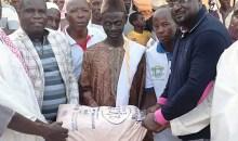[Côte d'Ivoire Conseil régionale du Guémon] Dr Serey Doh offre 6 tonnes de sucre et de riz à la communauté musulmane