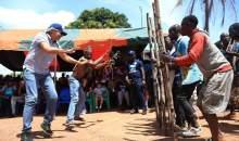 [Côte d'Ivoire/UE-Magic Tour] Après Bangolo, la caravane atterrit dans la capitale des 18 montagnes avant de mettre le cap sur Touba