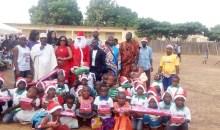 [Côte d'Ivoire/Arbre de Noël 2019] Environs 1000 enfants comblés de cadeaux à Guiglo