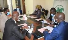 [Côte d'Ivoire/Médias] Le Repprelci échange avec le nouveau président du FSDP