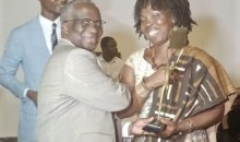 [Dîner gala des Inventeurs] Mme Dosso Mama Epse OHOUO, lauréate du '' Prix inventeur de l'année ''