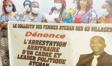 [Côte d'Ivoire/Arrestation des cadres et jeunes Ebrié de l'opposition] Les femmes Atchan des 63 villagescrient leur colère (déclaration)