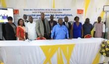 [Liberté de la presse] L'Ujpla exige la libération immédiate du journaliste togolais Carlos Komlanvi Kétohou (Déclaration)
