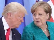Angela Merkel juge «problématique» la suspension du compte Twitter de Trump, indique son porte-parole
