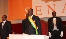 [Côte d'Ivoire] Ahoussou Jeannot a présidé la cérémonie solennelle d'ouverture de la Session ordinaire 2021 du Sénat (Discours)