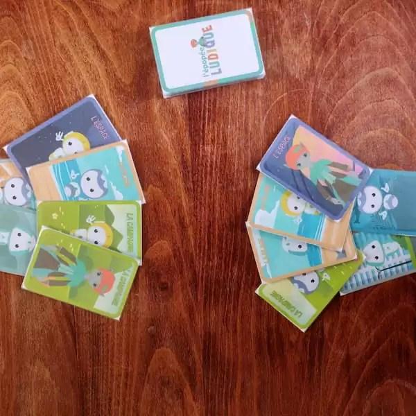Notre jeu de familles à imprimer gratuitement