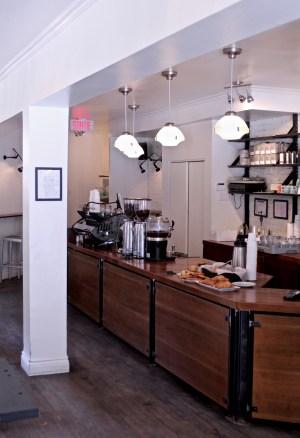 Comptoir du café Myriade