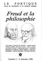 Freud et la philosophie