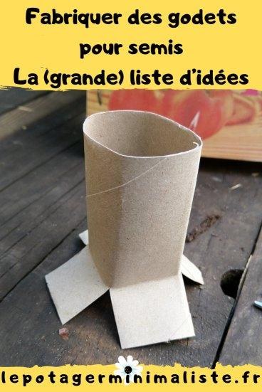 fabriquer-godet-semis-papier-toilette-pinterest