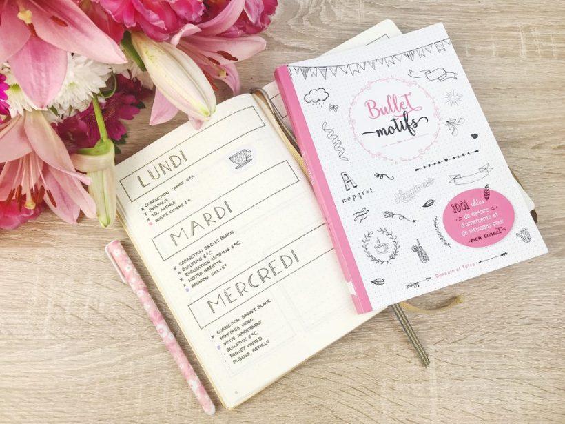 Bullet Journal et livre Bullet Motifs.