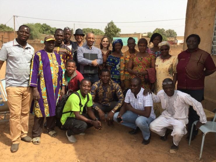 L'équipe technique et les enseignants de Kalgondin