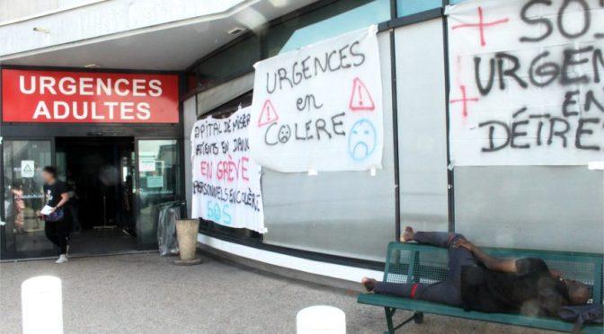 Où vont les urgences ? Réunion publique mecredi 6 novembre à 20h30