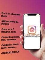 Social assistant publie faebook english
