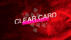 clear cards omnideck calix tour de magie jeu transparent