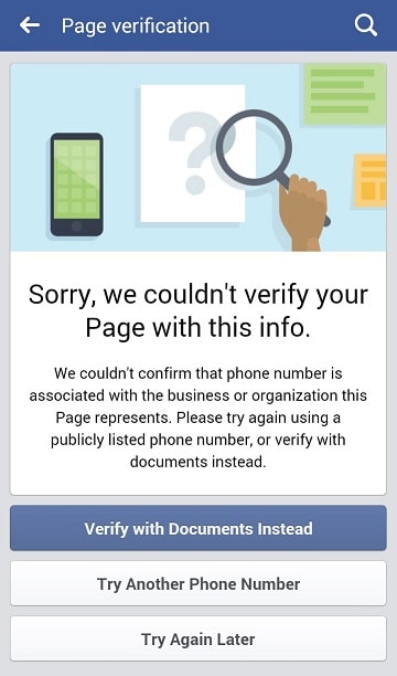 sorry-we-couldnt-verify-your-page-with-this-info