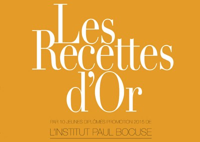 LeRalph / Flyers pour l'Institut PAUL BOCUSE