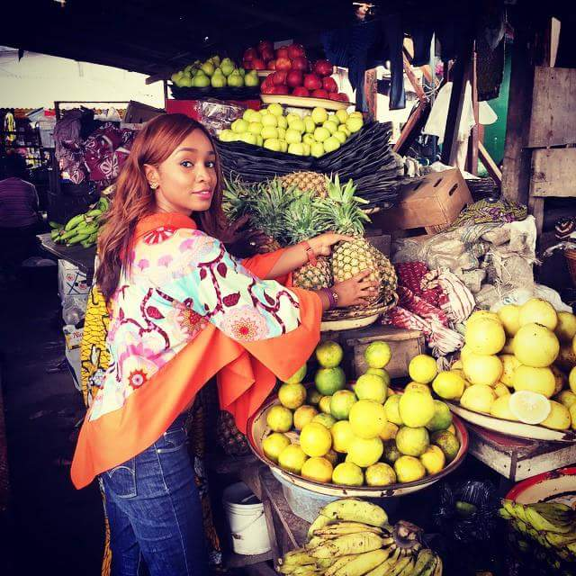 In Lagos Island market