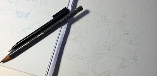 Work in progress : La pieuvre téléphonique