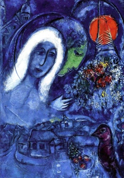 "Marc Chagall, ""Le Champ de Mars"""