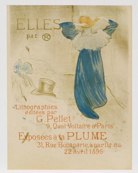 Henri de Toulouse-Lautrec, Elles, troisième lithographie
