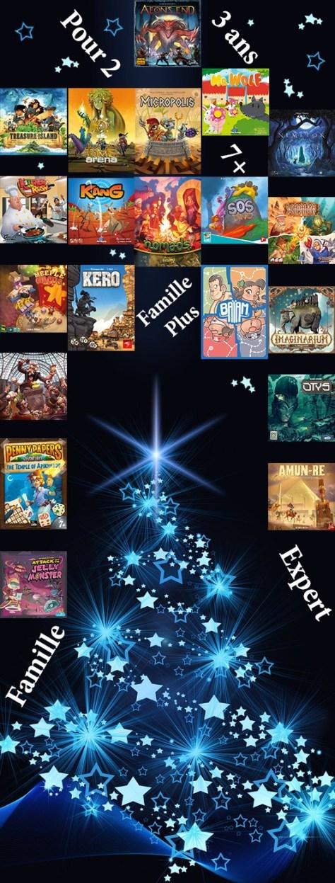 Notre guide d'achat de Noël jeux de société.