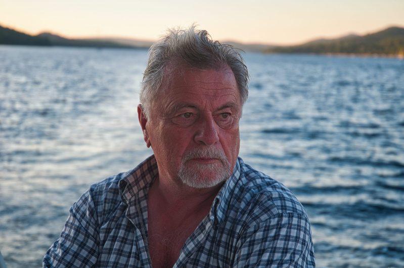 Gerhard an Bord zur Goldenen Stunde. (Foto: Andreas Lerg)