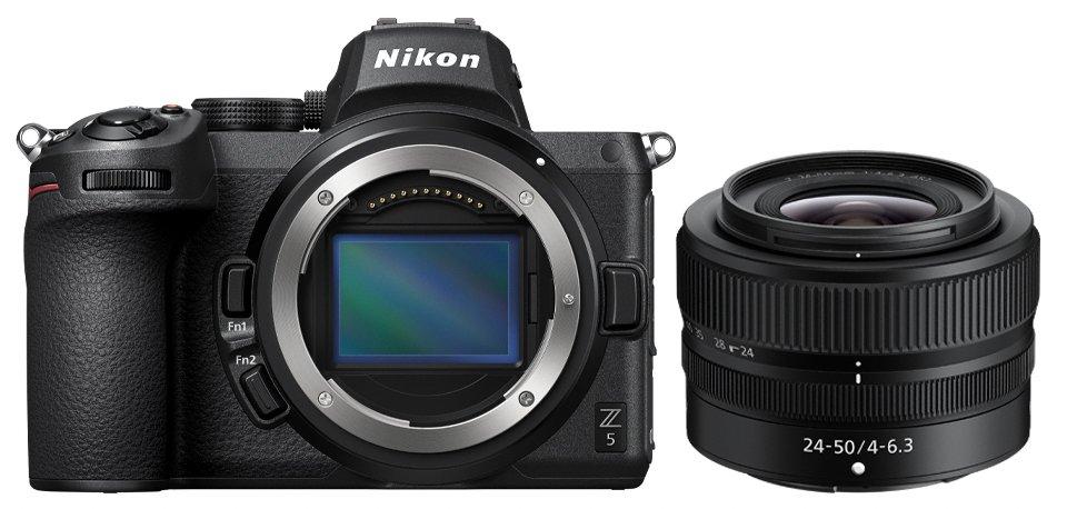Nikon Z5 mit Kir-Objektiv NIKKOR Z 24–50 MM 1:4–6,3 (Foto: Nikon)