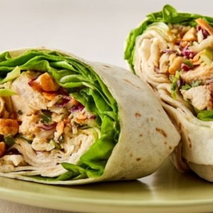 Chicken Shwarma Wrap