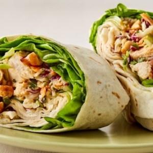 Chicken Shwarma Wrap
