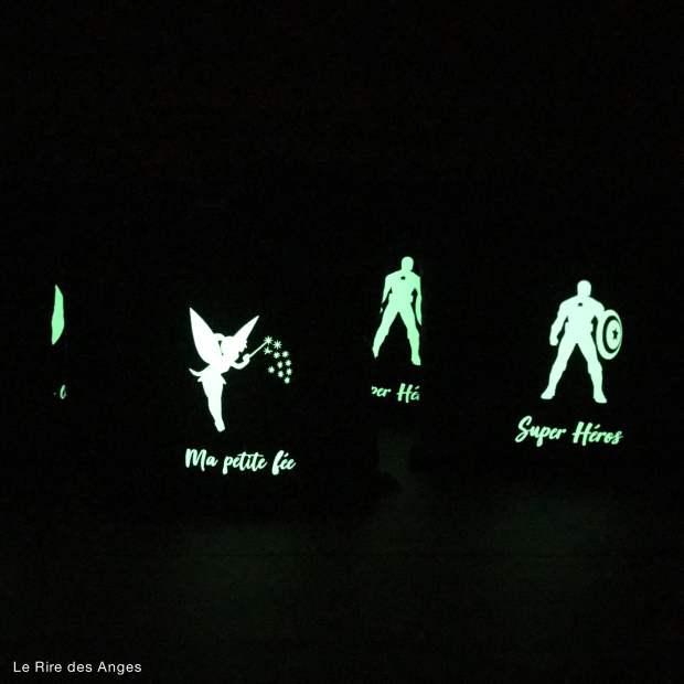 coussin phosphorescent