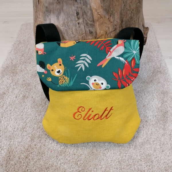 sac a dos maternelle personnalise