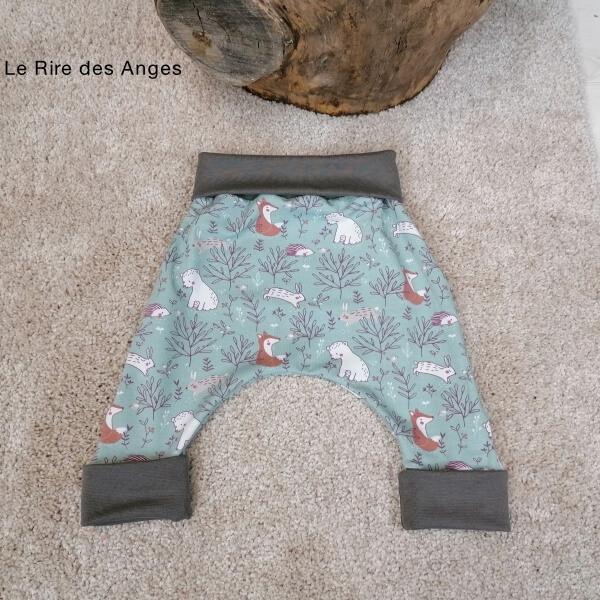 pantalon evolutif dans les bois