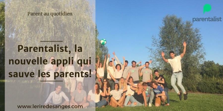 parentalist application activite enfant famille