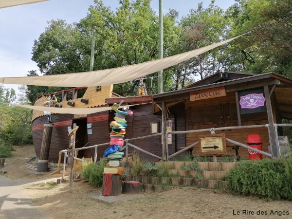 restaurant miripili ile aux pirates
